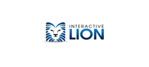logo-design-inspiration-blue-interactive-lion