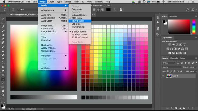 Come Gestire il Colore con Photoshop