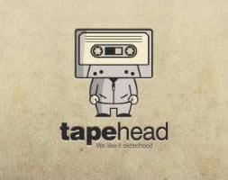 logo vintage tape