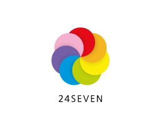 logo-design-colori-arcobaleno-24seven