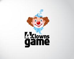 gaming-logo-design-4-clowns-game