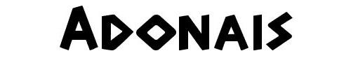 design-font-adonais