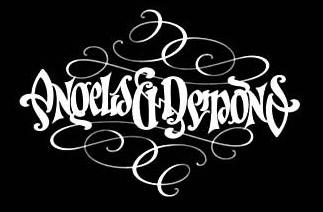 ambigramma-logo-design-angeli-e-demoni
