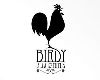 silhouette-logo-design-birdy