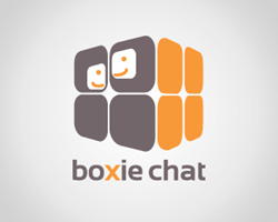 logo-design-social-network-boxie-chat