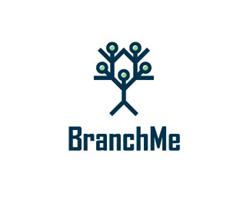 logo-design-social-network-branch-me