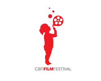 silhouette-logo-design-can-film