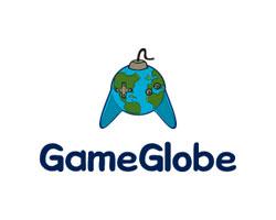 gaming-logo-design-game-globe