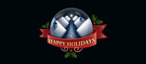 christmas-logo-design-happy-holidays