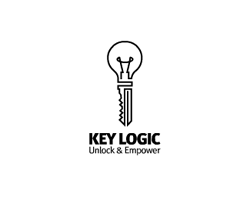 logo-design-electrifying-key-logic
