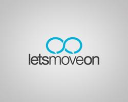logo-design-social-network-lets-move-on