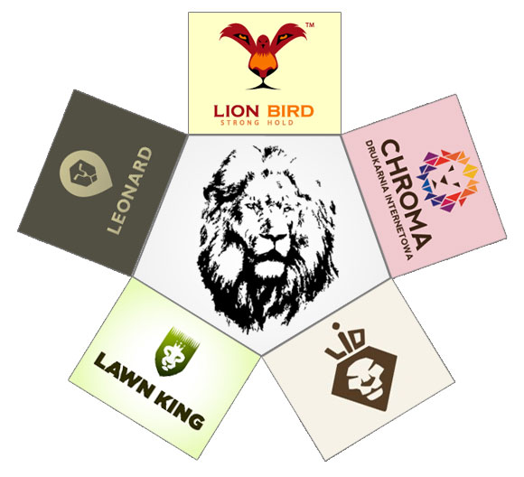 logo-design-wild-animal-lion