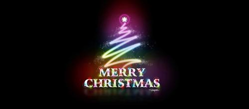christmas-logo-design-merry