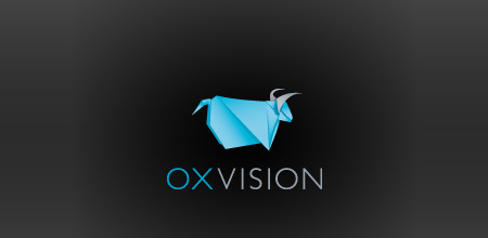 origami-inspired-logo-design-ox-vision