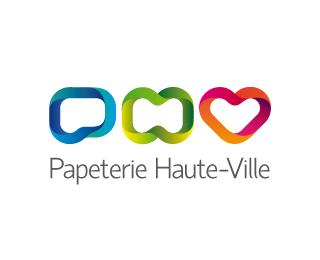 logo-design-colori-arcobaleno-papeterie-haute-ville