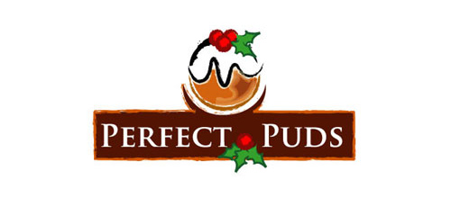christmas-logo-design-perfect-puds