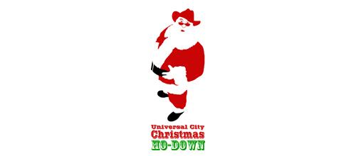 christmas-logo-design-universal-city
