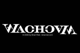 ambigramma-logo-design-wachovia