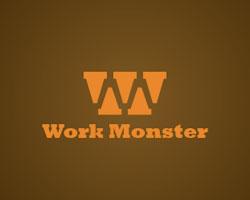 minimal-logo-design-hidden-message-work-monster