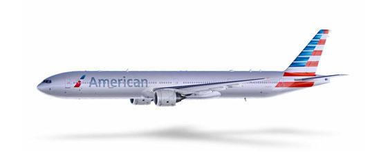 Il nuovo logo dell'American Airlines