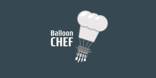 balloon-chef-logo-design-ristorante