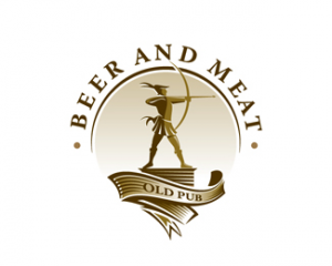 logo beer and meat