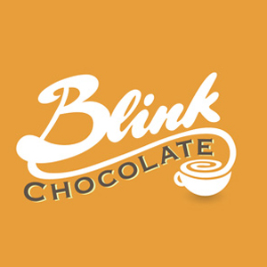 logo-design-food-delicious-tempting-blink-chocolate