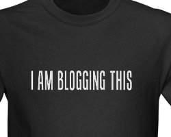 blogging-classic-tshirt-design