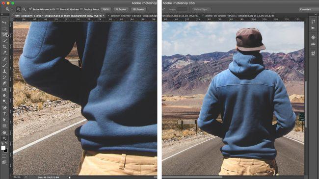 Come eliminare sfondo foto con photoshop