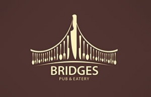 logo-inspiration-design-bridges-pub-food