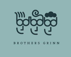 logo-design-face-brothers-grinn