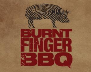 logo-design-grunge-burnt-finger-bbq