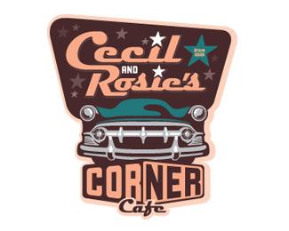 logo vintage cafe