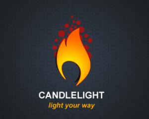 logo-design-pixel-candlelight