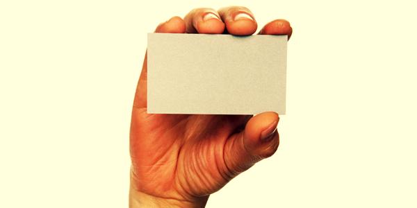 il biglietto da visita riflette il vostro marchio?