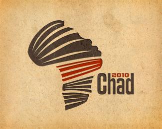 logo a doppio concetto chad 2010