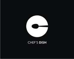 dual-concept-logo-negative-space-design-chef-dish