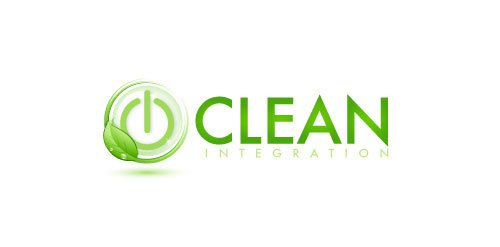 logo design green clean