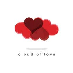 cuore-san valentino-logo-design-cloud-of-lover