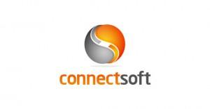 creative-gradient-3d-effect-logo-design-connectsoft