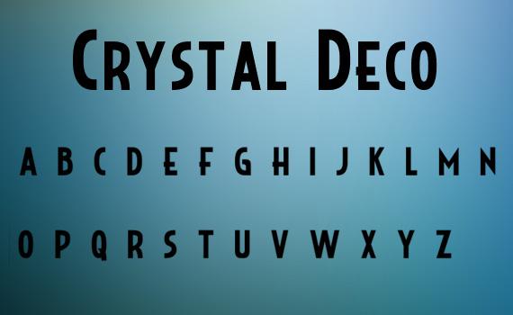 crystal-deco-free-font-design