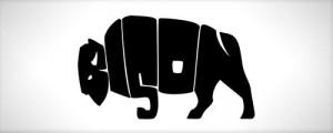 logo-bison-design-texting-inspiration