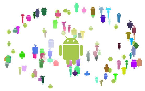 La storia del logo Android