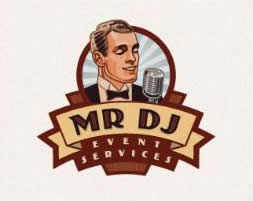 logo vintage dj