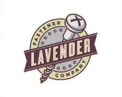 logo vintage lavander