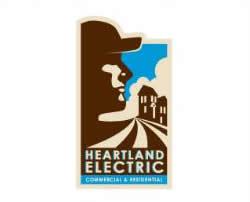 logo vintage heartland