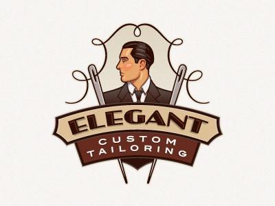 logo vintage elegant