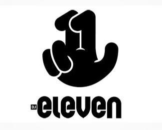 numeri-logo-design-dj-eleven