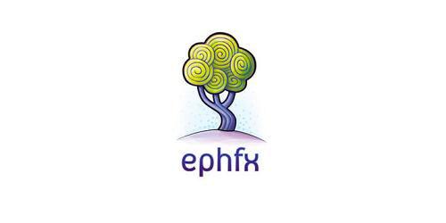 logo design green ephfx