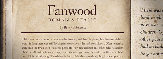 fanwood-free-font-design